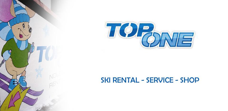 TOP ONE Ski Rental Service Shop Breuil
